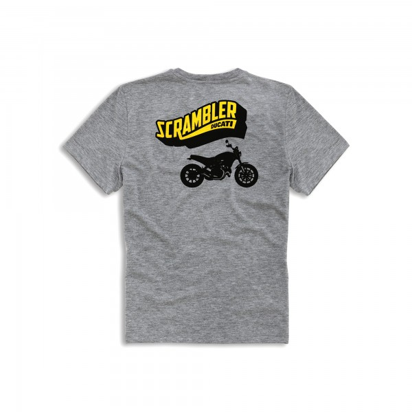 T-shirt Big Banner Scrambler