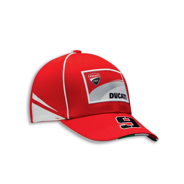 Cap Ducati Corse D09 one size fits all  Red