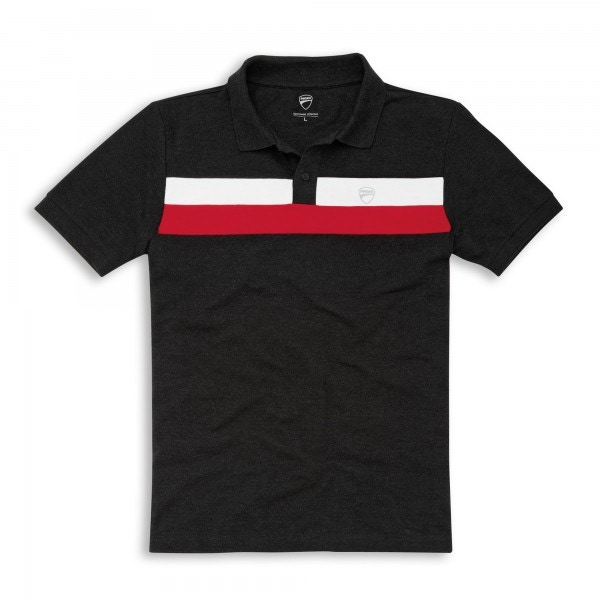 Short sleeved polo shirt D Stripes