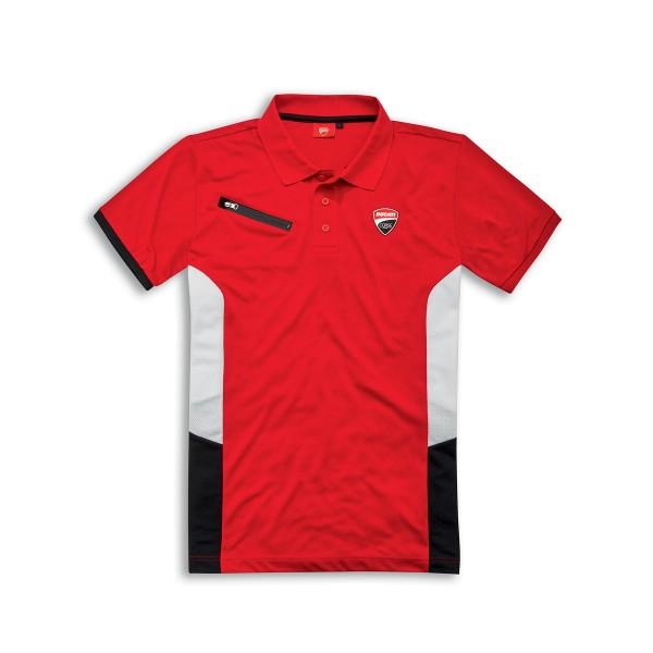 Short-sleeved polo shirt Ducati Corse DC Power