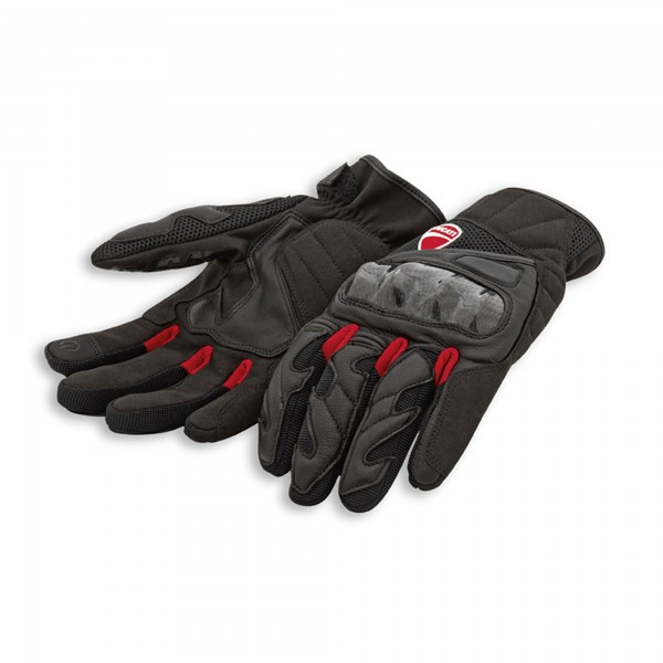 Fabric leather gloves City C3