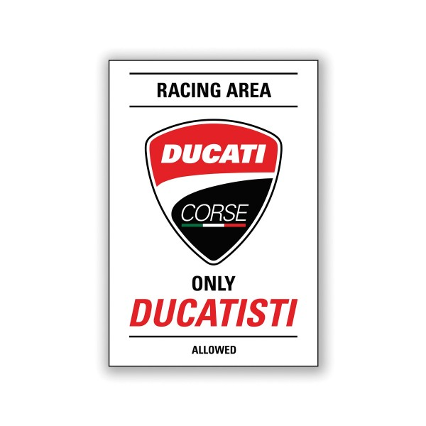 Magnet Ducati Corse Racing area