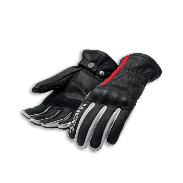Leather gloves Historical Ducati 77 C1