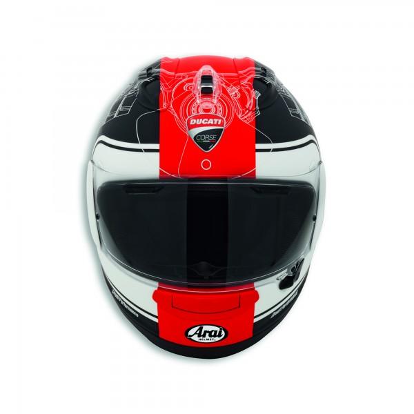 Full-face helmet Ducati Corse V3