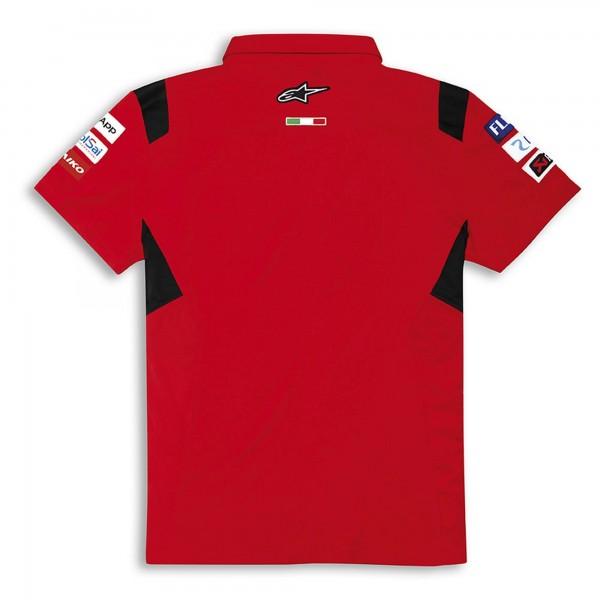 Short-sleeved polo shirt-GP Team Replica 21 Men