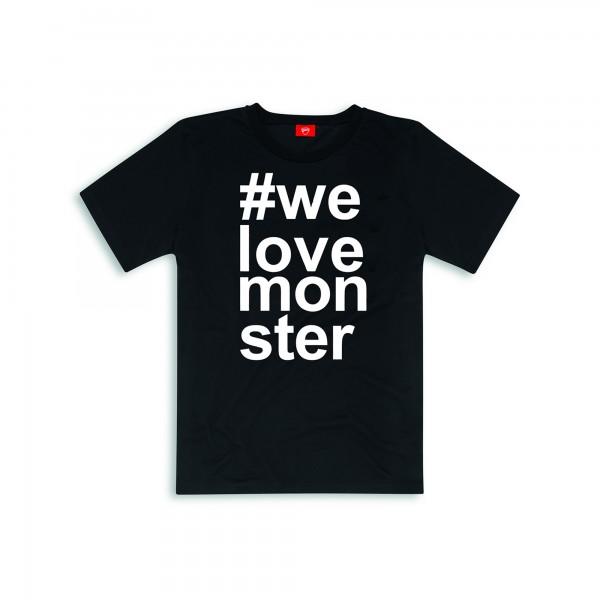 T-shirt #Monster Ducati